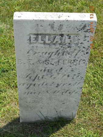 FERRIS, ELLA M. - Branch County, Michigan | ELLA M. FERRIS - Michigan Gravestone Photos