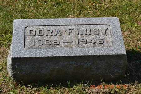FINISY, DORA - Branch County, Michigan | DORA FINISY - Michigan Gravestone Photos