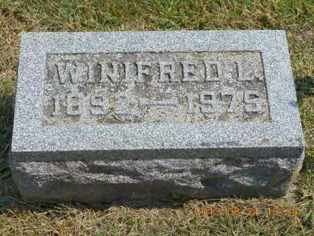 FINISY, WINIFRED L. - Branch County, Michigan | WINIFRED L. FINISY - Michigan Gravestone Photos