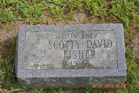 FISHER, SCOTT DAVID - Branch County, Michigan | SCOTT DAVID FISHER - Michigan Gravestone Photos