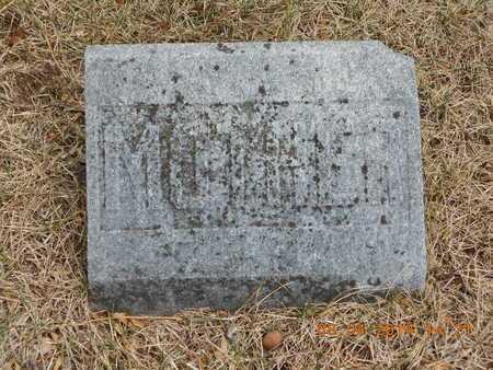 FLANDERS, FLORA - Branch County, Michigan | FLORA FLANDERS - Michigan Gravestone Photos