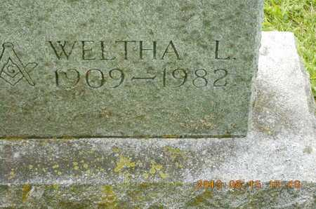 FOOTE, WELTHA L. - Branch County, Michigan | WELTHA L. FOOTE - Michigan Gravestone Photos
