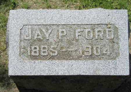 FORD, JAY P. - Branch County, Michigan | JAY P. FORD - Michigan Gravestone Photos