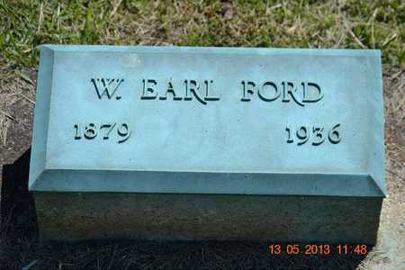 FORD, W. EARL - Branch County, Michigan | W. EARL FORD - Michigan Gravestone Photos
