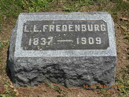 FREDENBURG, L.L. - Branch County, Michigan   L.L. FREDENBURG - Michigan Gravestone Photos