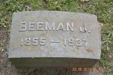 FREDERICK, BEEMAN J. - Branch County, Michigan   BEEMAN J. FREDERICK - Michigan Gravestone Photos