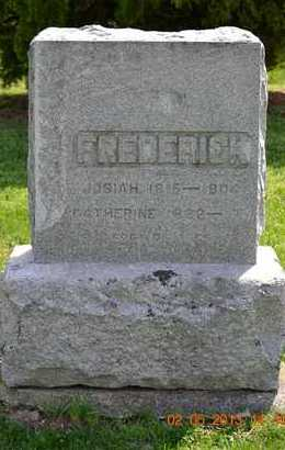FREDERICK, CATHERINE - Branch County, Michigan | CATHERINE FREDERICK - Michigan Gravestone Photos