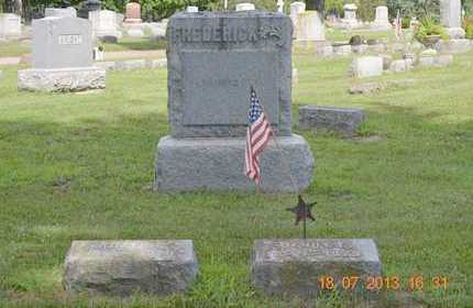 FREDERICK, LOT OVERVIEW - Branch County, Michigan | LOT OVERVIEW FREDERICK - Michigan Gravestone Photos
