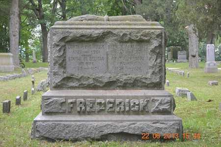 FREDERICK, LEWIS W. - Branch County, Michigan | LEWIS W. FREDERICK - Michigan Gravestone Photos