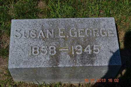 GEORGE, SUSAN - Branch County, Michigan | SUSAN GEORGE - Michigan Gravestone Photos