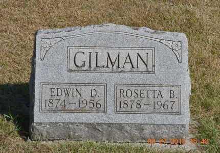 GILMAN, ROSETTA B. - Branch County, Michigan | ROSETTA B. GILMAN - Michigan Gravestone Photos