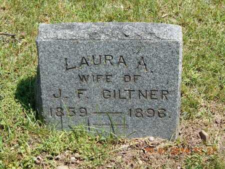 GILTNER, LAURA A. - Branch County, Michigan | LAURA A. GILTNER - Michigan Gravestone Photos