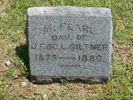 GILTNER, M. PEARL - Branch County, Michigan   M. PEARL GILTNER - Michigan Gravestone Photos