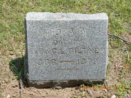 GILTNER, NORA M. - Branch County, Michigan | NORA M. GILTNER - Michigan Gravestone Photos