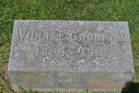 GOODNOW, WILLIS - Branch County, Michigan   WILLIS GOODNOW - Michigan Gravestone Photos
