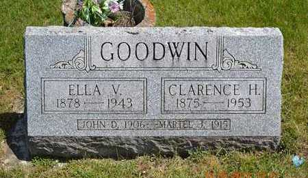 GOODWIN, CLARENCE H. - Branch County, Michigan | CLARENCE H. GOODWIN - Michigan Gravestone Photos