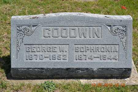 GOODWIN, GEORGE W. - Branch County, Michigan   GEORGE W. GOODWIN - Michigan Gravestone Photos