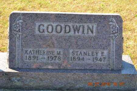 GOODWIN, STANLEY E. - Branch County, Michigan | STANLEY E. GOODWIN - Michigan Gravestone Photos