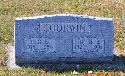 GOODWIN, RUTH B. - Branch County, Michigan | RUTH B. GOODWIN - Michigan Gravestone Photos