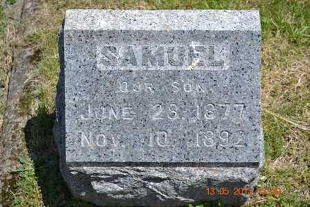 GOODWIN, SAMUEL - Branch County, Michigan   SAMUEL GOODWIN - Michigan Gravestone Photos
