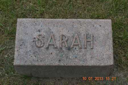 GOODWIN, SARAH H. - Branch County, Michigan | SARAH H. GOODWIN - Michigan Gravestone Photos