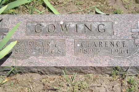 GOWING, CLARENCE - Branch County, Michigan | CLARENCE GOWING - Michigan Gravestone Photos
