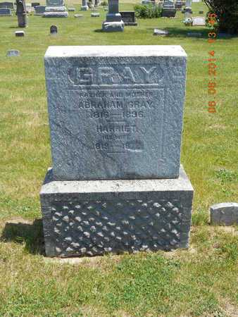 GRAY, HARRIET - Branch County, Michigan   HARRIET GRAY - Michigan Gravestone Photos