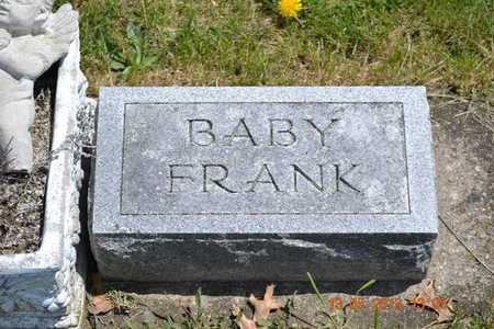 GREENWALD, BABY FRANK - Branch County, Michigan | BABY FRANK GREENWALD - Michigan Gravestone Photos