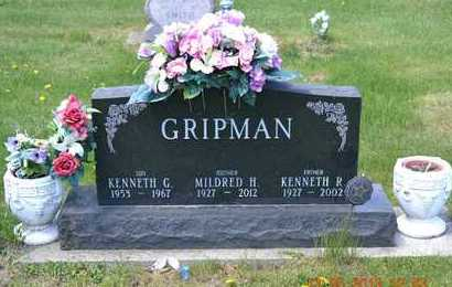 GRIPMAN, KENNETH R. - Branch County, Michigan | KENNETH R. GRIPMAN - Michigan Gravestone Photos
