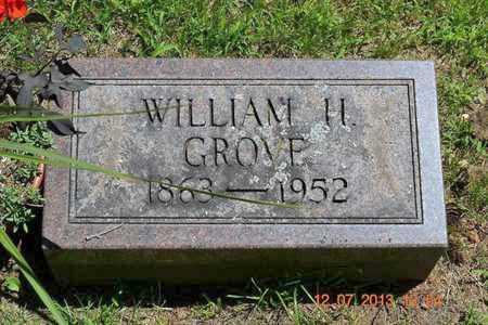 GROVE, WILLIAM H. - Branch County, Michigan | WILLIAM H. GROVE - Michigan Gravestone Photos