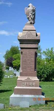 HALL, SARAH ELIZABETH - Branch County, Michigan   SARAH ELIZABETH HALL - Michigan Gravestone Photos