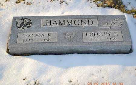 HAMMOND, DOROTHY H. - Branch County, Michigan | DOROTHY H. HAMMOND - Michigan Gravestone Photos