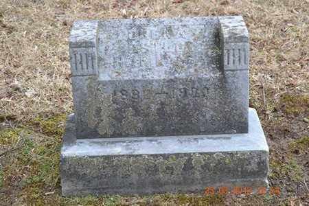 HAMMOND, LORENA - Branch County, Michigan   LORENA HAMMOND - Michigan Gravestone Photos