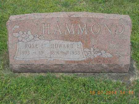 HAMMOND, ROSE E. - Branch County, Michigan | ROSE E. HAMMOND - Michigan Gravestone Photos