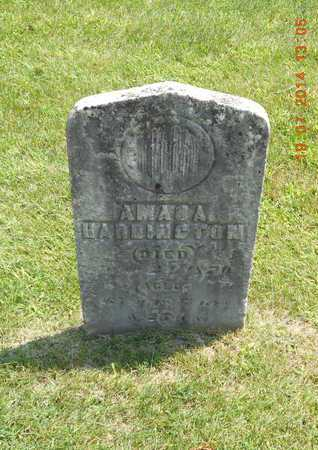 HARRINGTON, AMASA - Branch County, Michigan | AMASA HARRINGTON - Michigan Gravestone Photos