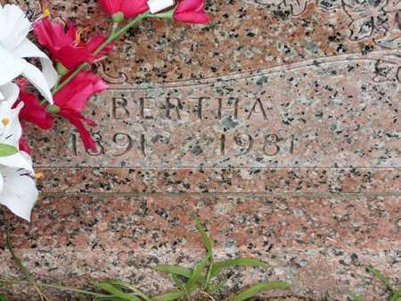 HARRIS, BERTHA - Branch County, Michigan   BERTHA HARRIS - Michigan Gravestone Photos
