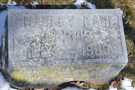 HARRIS, CHARLEY EARL - Branch County, Michigan | CHARLEY EARL HARRIS - Michigan Gravestone Photos