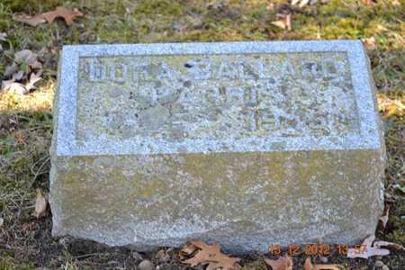 HARRIS, DORA - Branch County, Michigan | DORA HARRIS - Michigan Gravestone Photos