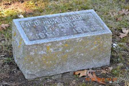 HARRIS, FREDERICK - Branch County, Michigan | FREDERICK HARRIS - Michigan Gravestone Photos