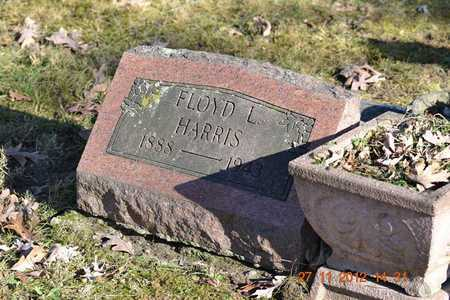 HARRIS, FLOYD L. - Branch County, Michigan | FLOYD L. HARRIS - Michigan Gravestone Photos