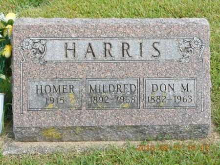 HARRIS, HOMER - Branch County, Michigan | HOMER HARRIS - Michigan Gravestone Photos