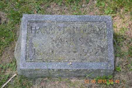 HARRIS, HARRIET - Branch County, Michigan | HARRIET HARRIS - Michigan Gravestone Photos