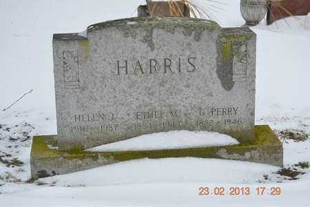 HARRIS, ETHEL M. - Branch County, Michigan | ETHEL M. HARRIS - Michigan Gravestone Photos