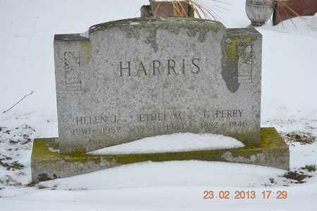 HARRIS, G. PERRY - Branch County, Michigan | G. PERRY HARRIS - Michigan Gravestone Photos