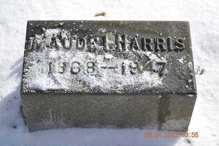 HARRIS, MAUDE ISABELLE - Branch County, Michigan | MAUDE ISABELLE HARRIS - Michigan Gravestone Photos