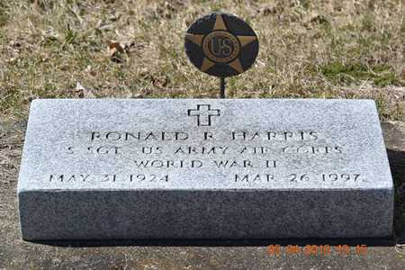 HARRIS, RONALD R. - Branch County, Michigan   RONALD R. HARRIS - Michigan Gravestone Photos