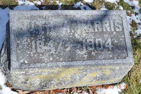 HARRIS, RUTH A. - Branch County, Michigan | RUTH A. HARRIS - Michigan Gravestone Photos