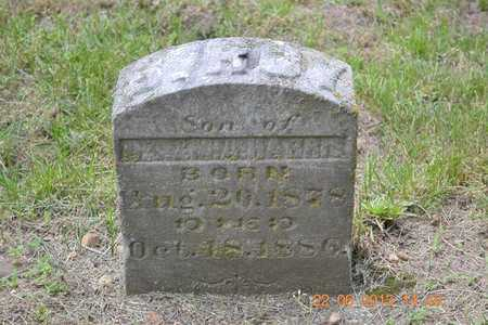 HARRIS, S. ROY - Branch County, Michigan | S. ROY HARRIS - Michigan Gravestone Photos