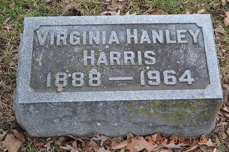 HARRIS, VIRGINIA - Branch County, Michigan   VIRGINIA HARRIS - Michigan Gravestone Photos