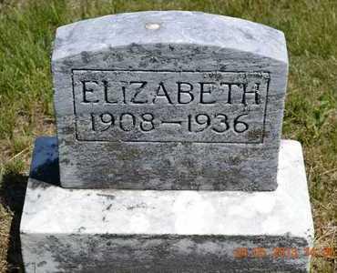 HARRISON, ELIZABETH - Branch County, Michigan | ELIZABETH HARRISON - Michigan Gravestone Photos
